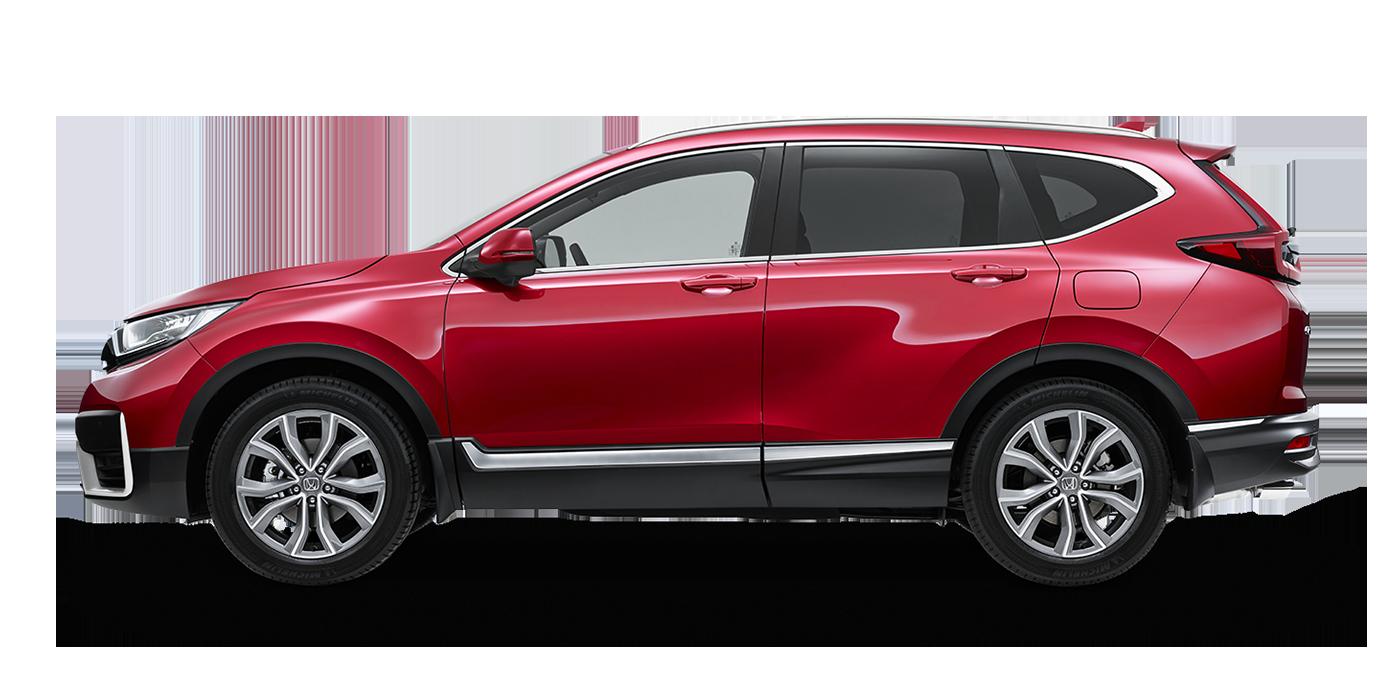 CR-V in Ignite Red (Metallic)